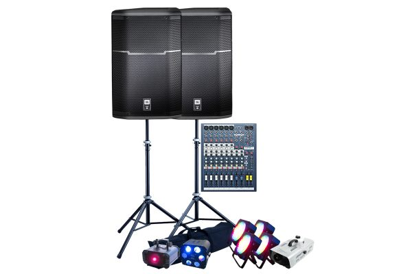 i-Party-Speakers-Mixer-Lighting
