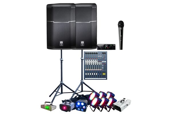 i-Party-Speakers-Mixer-Lighting-parcans-Microphone
