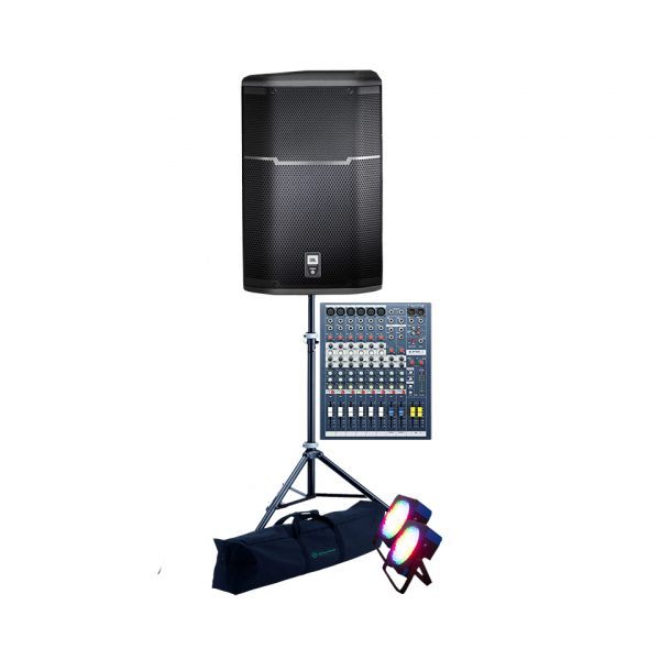 i-Party-Speakers-Mixer–lights-setup