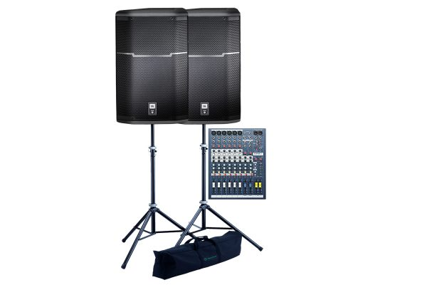 i-Party-Speakers-Mixer-setup